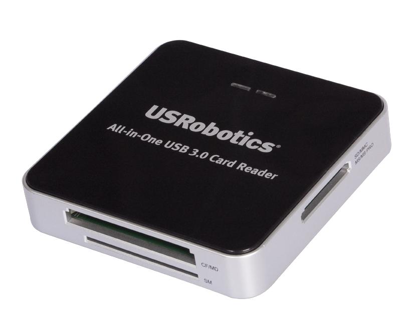 USRobotics' New All-in-One USB 3.0  Card Reader/Writer