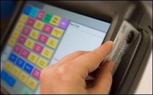 Pos Terminal Credit Card Swiper