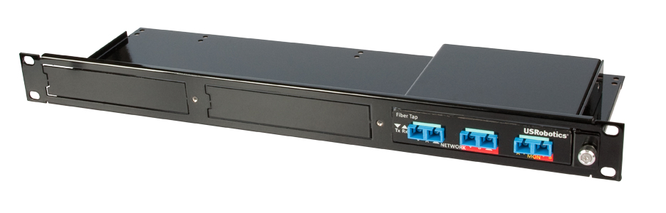 Tap installed in a Rackmount
