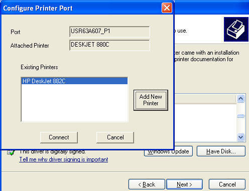 how to connect to a printer