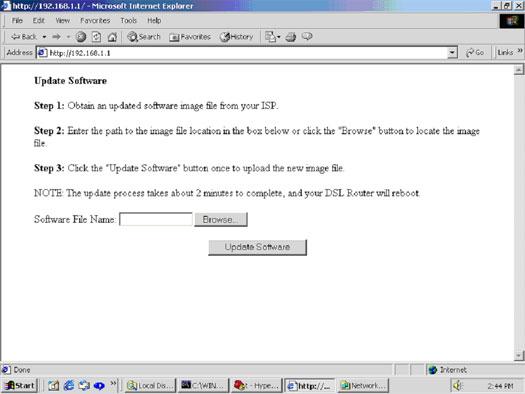 USRobotics SureConnect ADSL 4-Port Router User Guide