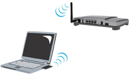 gateway can communicate wirelessly with any device that has a wireless